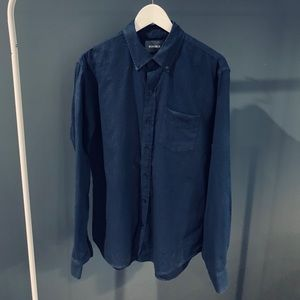 Bonobos Blue Button-Down